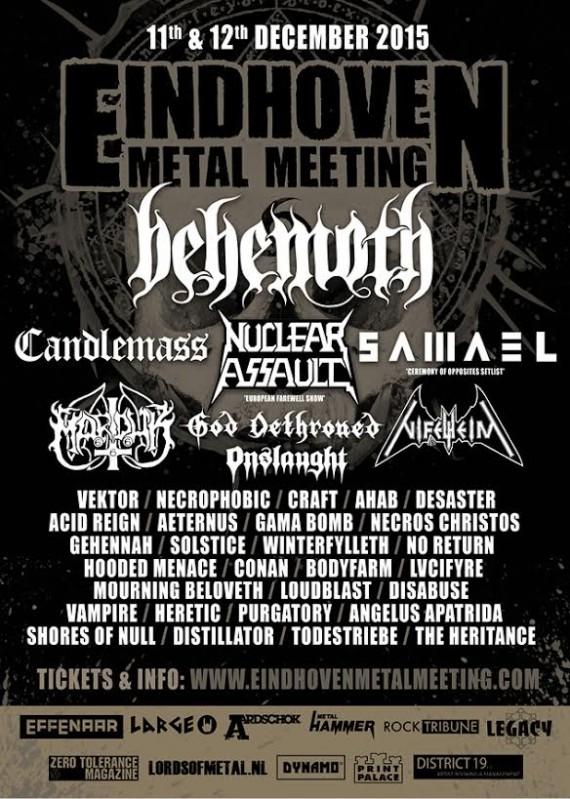 eindhoven metal meeting - locandina 7 - 2015