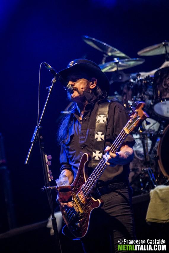 Motorhead - Lemmy live Milano 2014