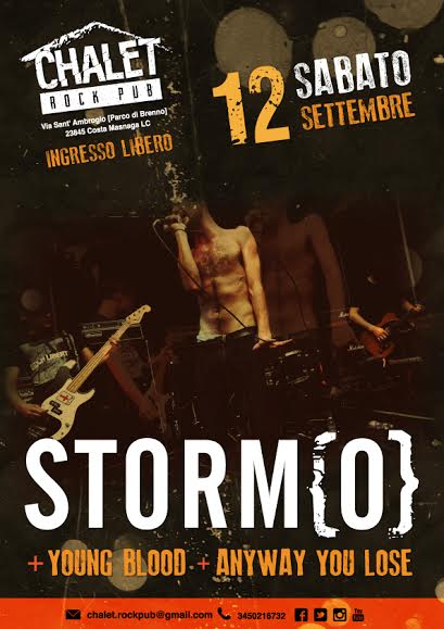 stormo - locandina lecco 2015