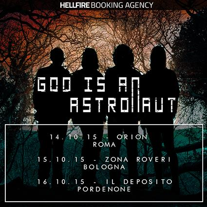 God Is An Astronaut - locandina - 2015