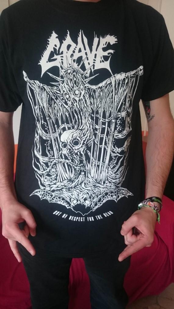 Grave - maglietta - 2015