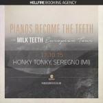 PIANOS BECOME THE TEETH - Live Seregno - 2015