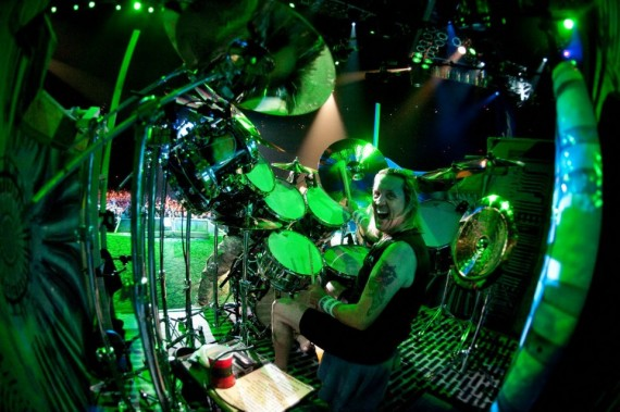 iron maiden - nicko mcbrain - 2012
