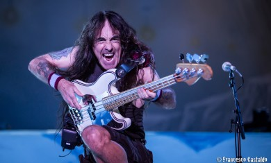Iron Maiden - Steve Harris live @ Rock In Idro 2014, Bologna