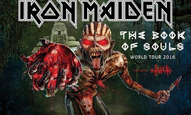iron maiden - tour 2016