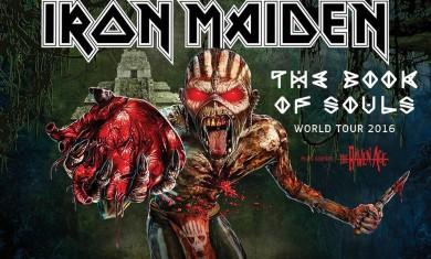 iron maiden - tour 2016