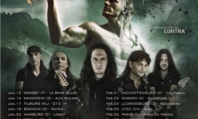 luca turilli's rhapsody - tour europeo - 2016