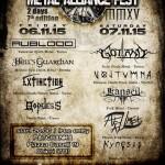 METAL ALLIANCE FEST 2015: i dettagli dell'evento