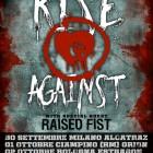 Rise Against + Raised Fist