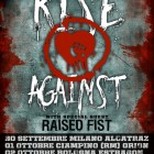 Rise Against + Raised Fist