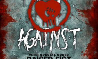 rise against - raised fist - 2015