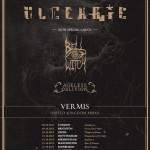 ulcerate - uk tour - 2015