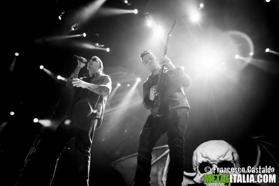 Avenged Sevenfold - live Milano 2013