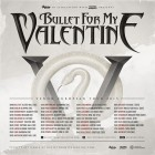 Bullet For My Valentine + While She Sleeps + Coldrain