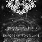 DER WEG EINER FREIHEIT, HARAKIRI FOR THE SKY, THE GREAT OLD ONES: tour europeo