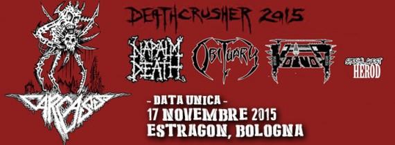 Deathcrusher - Flyer - 2015