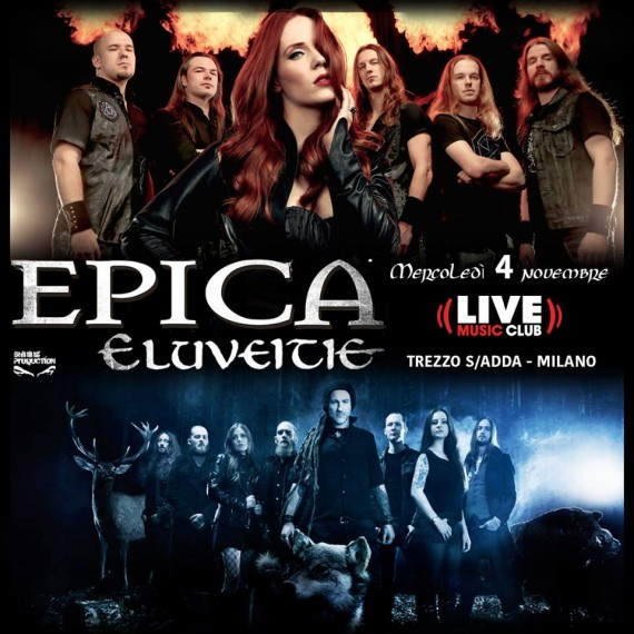 Epica - Trezzo 2015 - manifesto