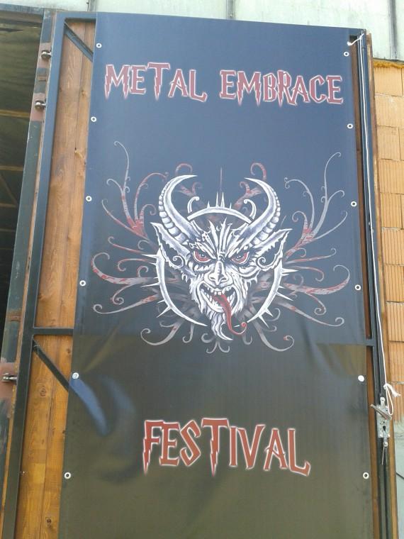 Metal Embrace - portone locale - 2015