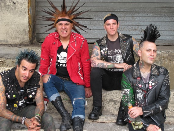 The Casualties - band