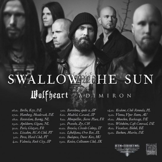 adimiron tour swallow the sun 2015