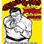 CRIPPLE BASTARDS, DISTRUZIONE: i dettagli della data di Parma