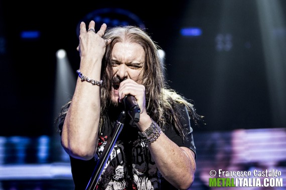 Dream Theater - James Labrie live Milano - 2014