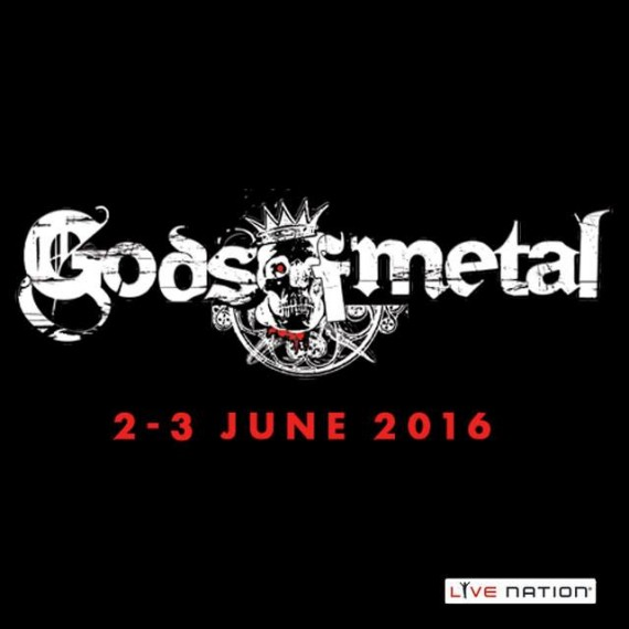 gods of metal - logo 2016