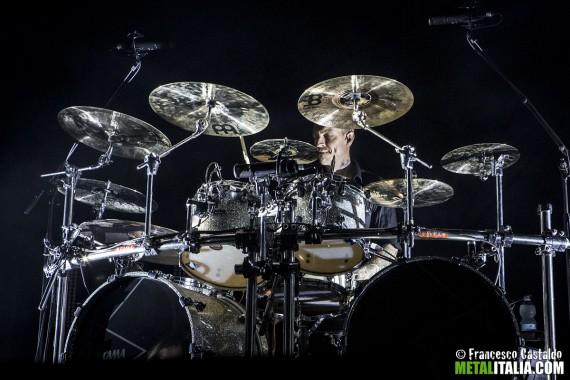 In Flames - Daniel Svensson live Trezzo sull'Adda 2014