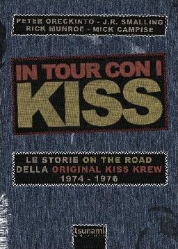 in tour con i kiss - libro
