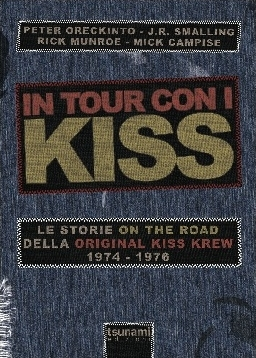 in tour con i kiss - libro