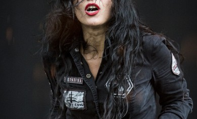 Lacuna Coil - Cristina Scabbia live Milano - 2013