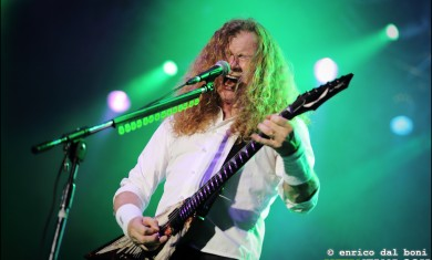 Megadeth - Dave Mustaine live Metaldays 2014