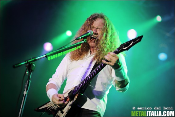 Megadeth - Dave Mustaine live Metaldays 2014