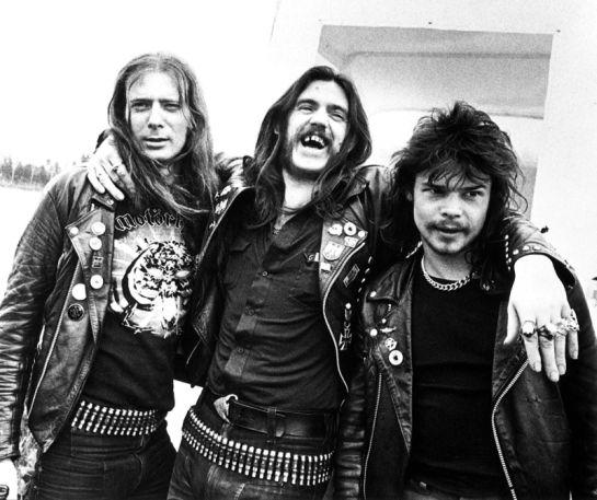 Motorhead in formazione storica con Fast Eddie Clarke, Lemmy e Philthy Animal