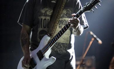 Motorhead - Phil Campbell live Milano - 2014