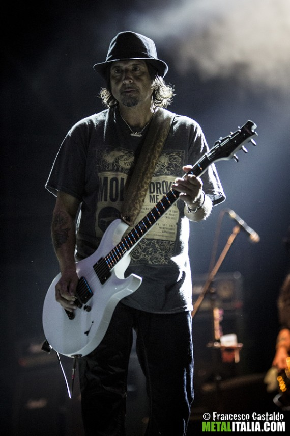 motorhead - phil campbell live milano - 2014