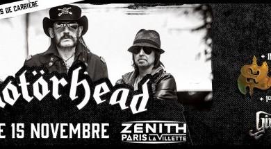 motorhead - show parigi - 2015