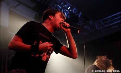 napalm death - barney - live bologna 2014