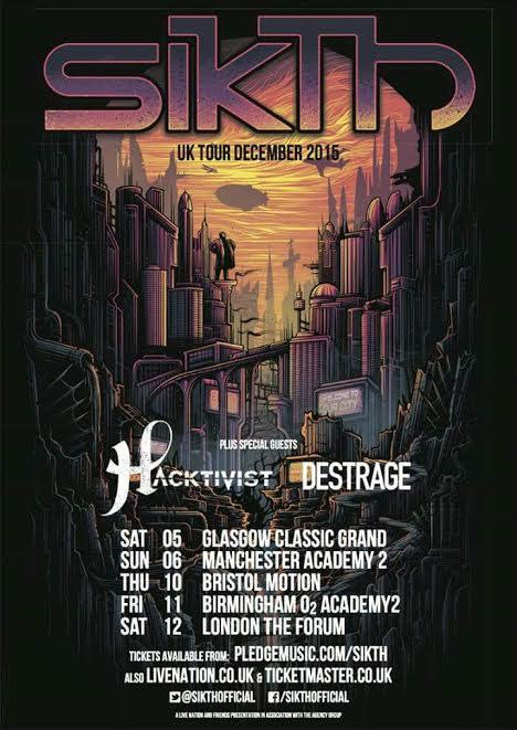 sikth - destrage - 2015