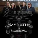symphony x - tour - 2016