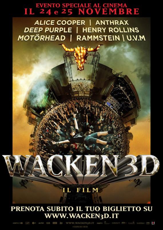 wacken 3d - cinema italia - 2015