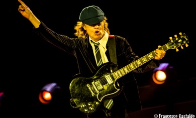 AC/DC - Angus Young live Imola - 2015