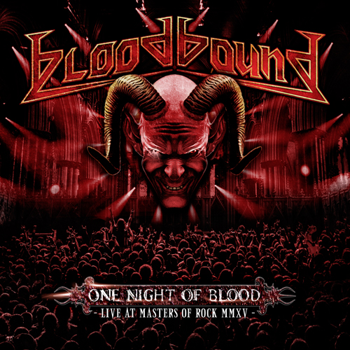 BLOODBOUND - One Night Of Blood - 2016