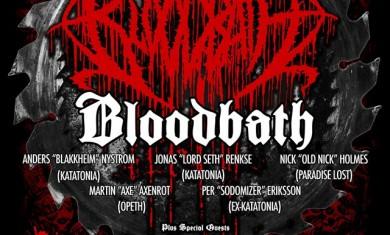 bloodbath - locandina londra 2015
