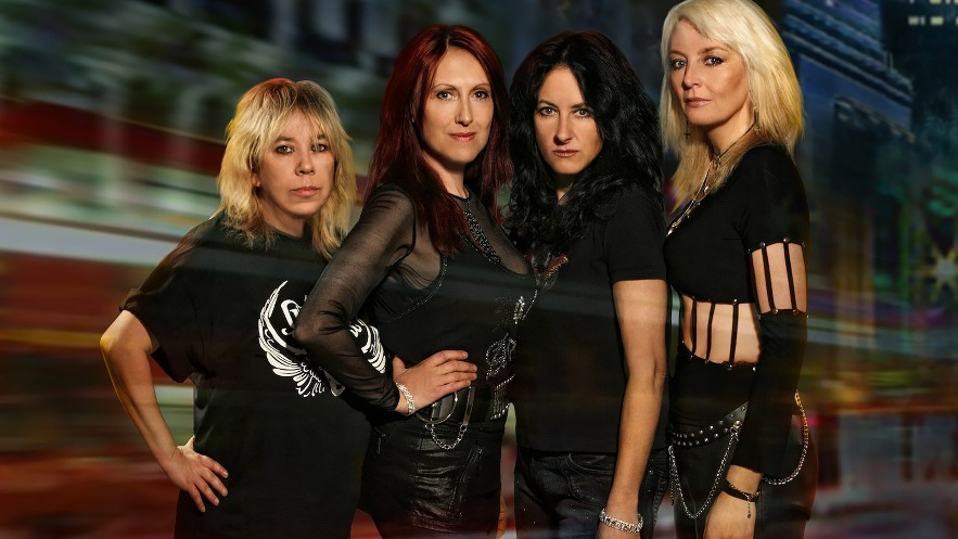 girlschool - band - 2015