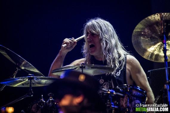 motorhead - mikkey dee live milano 2014