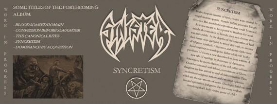 sinister - syncretism promo - 2015