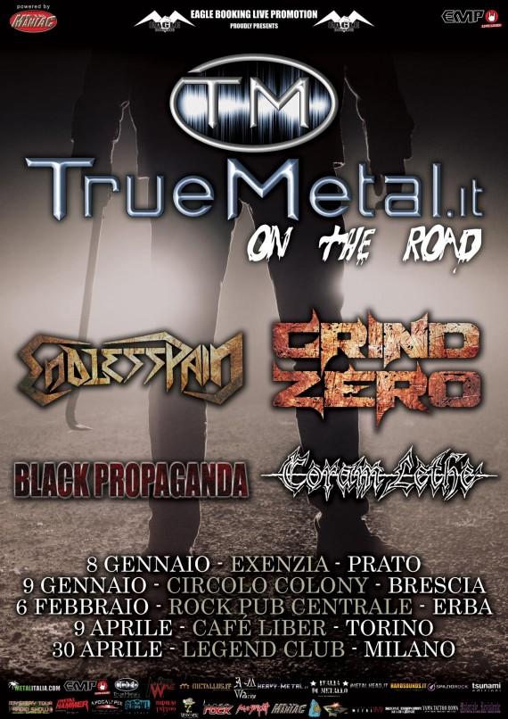 truemetal on the road - 2016