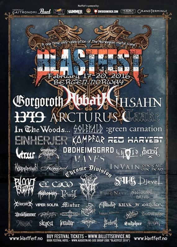 Blast Fest - Flyer edizione 2016 - 2016