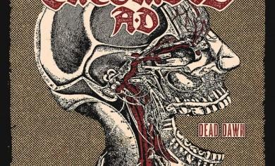 ENTOMBED AD - Dead Dawn - album cover - 2016